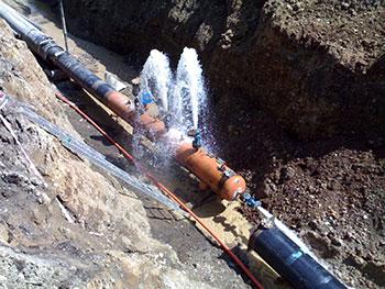 deteccion de perdidas de agua fuga