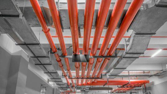 Mantenimiento de redes contra incendios